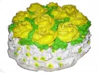 48 П Желтые розы от 0,8 кг