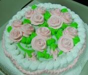 57 П С розами от 1 кг