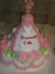 103 Д Кукла в розовом платье от 1,5 кг