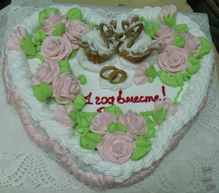 Простой торт на годовщину свадьбы своими руками 10